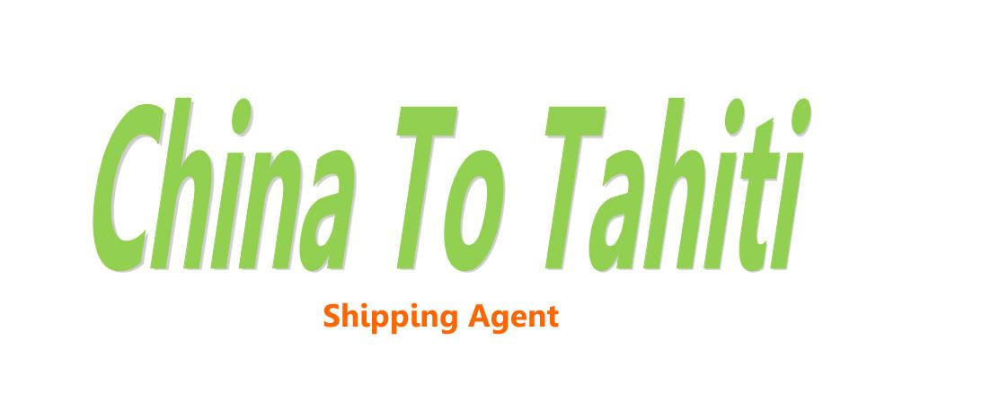 shipping from china to Tahiti