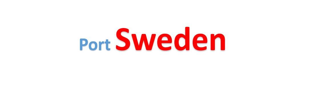 Sweden sea port Container