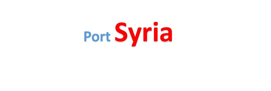 Syria sea port Container