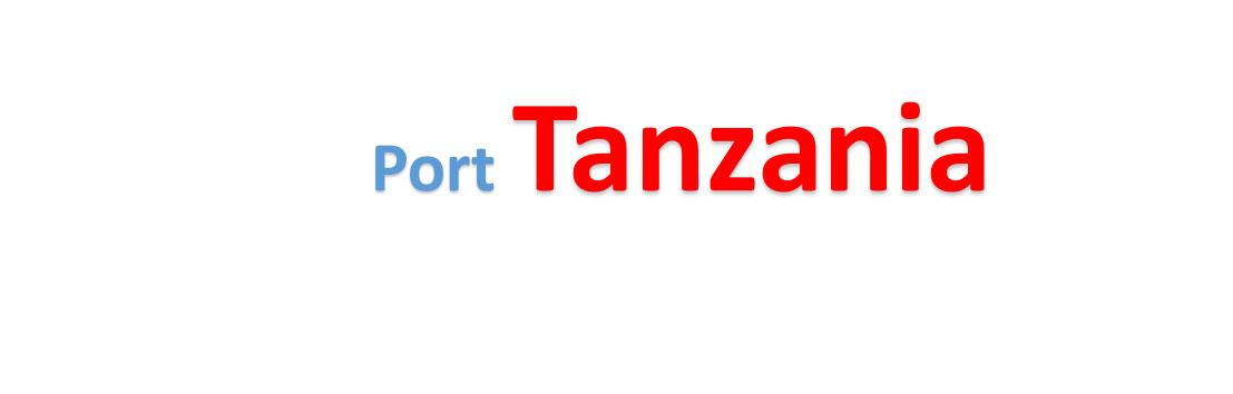 Tanzania Sea port Container