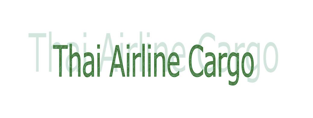 thai airline cargo