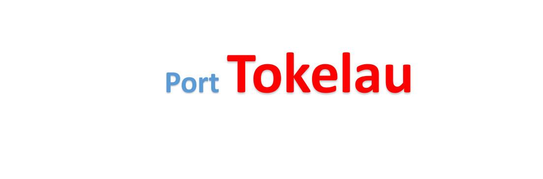 Tokelau Sea port Container