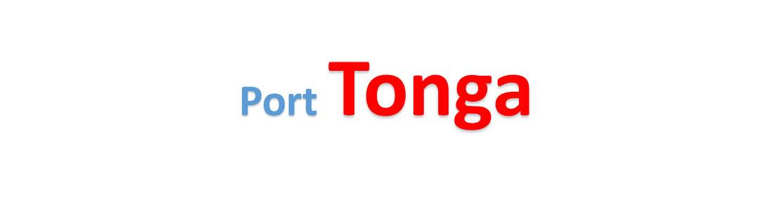 Tonga Sea port Container