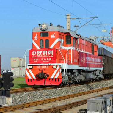 train freight from china poland  europe