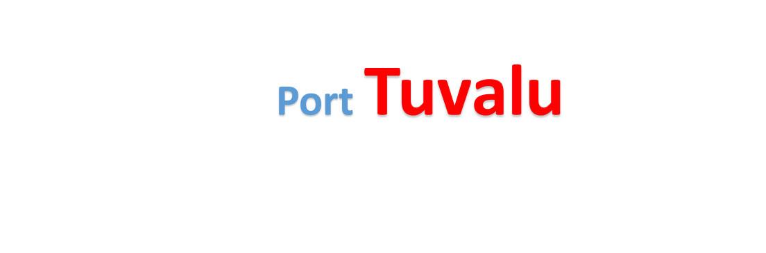 Tuvalu Sea port Container