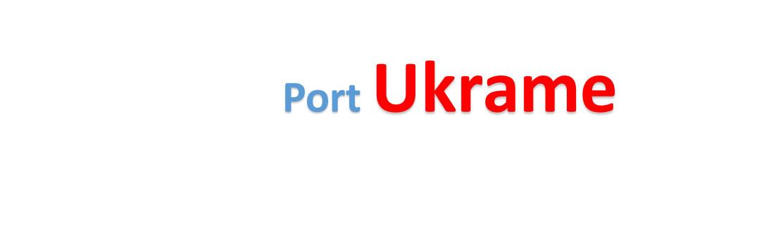 Ukrame Sea port Container