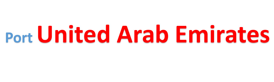 United Arab Emirates Sea port Container