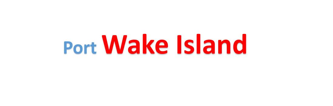 Wake Island Sea port Container