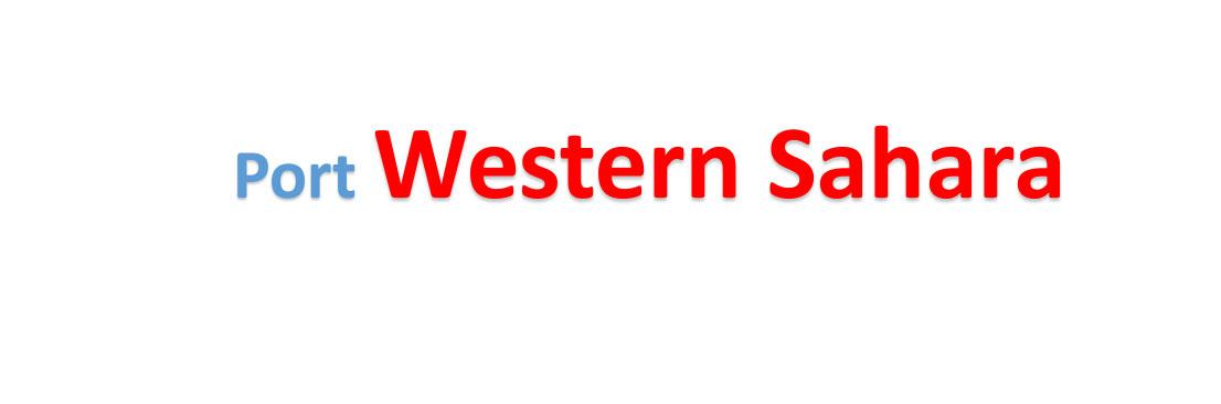 Western Sahara sea port Container