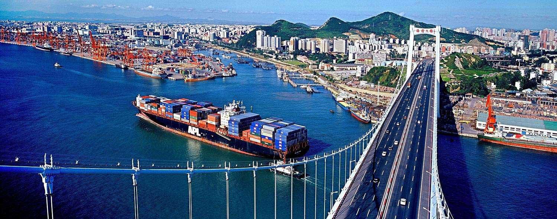 Ports Of Xiamen Xiamenport Map Xiamen Container Port