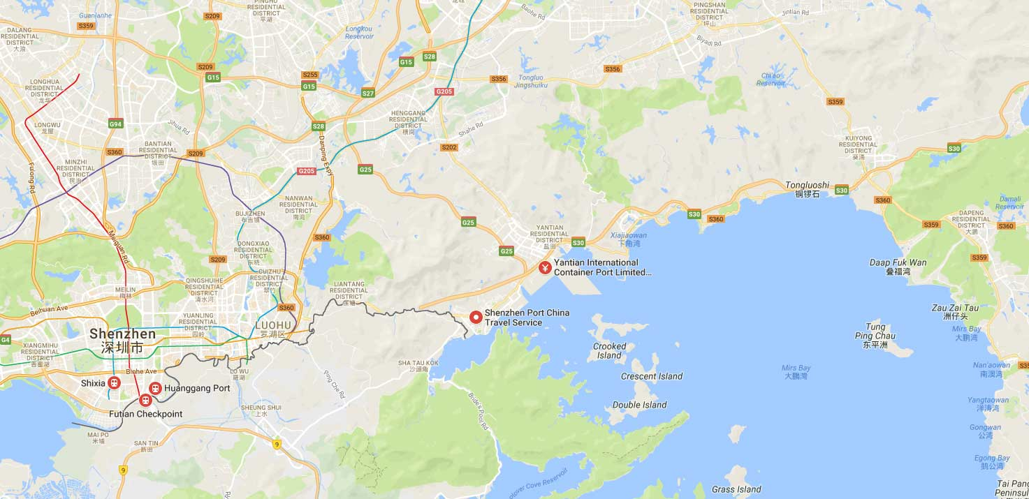 Port of Yantian  Port Directory