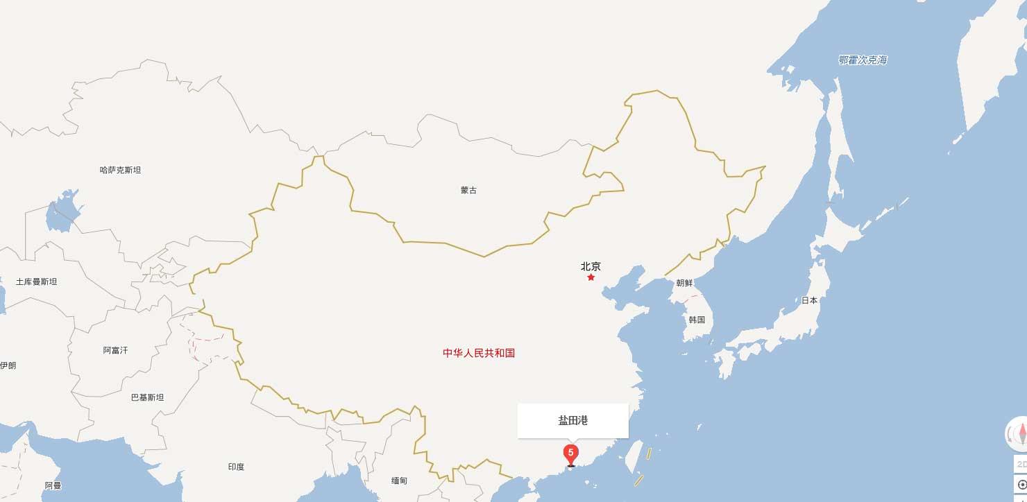 Ports Of Yiantian Yantian Port Map Yantian Port Address
