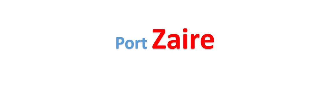 Zaire sea port Container